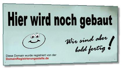 Domain wird im Kundenauftrag verwaltet duch die Domain-Registrierungsstelle.de